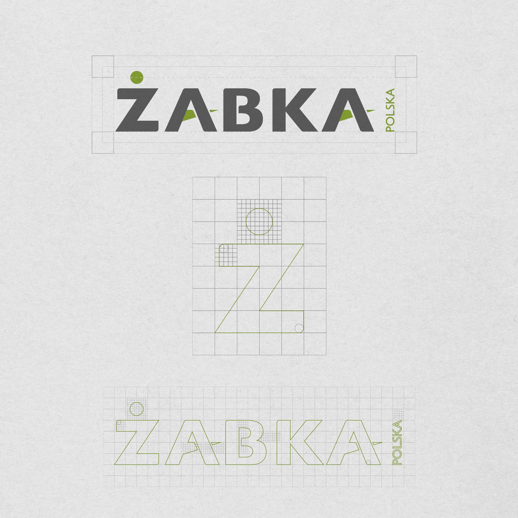 logo design, identyfikacja marki, branding, brand book, znak graficzny, logo firmy, ci, Żabka Polska, art designer - Ireneusz Bloch