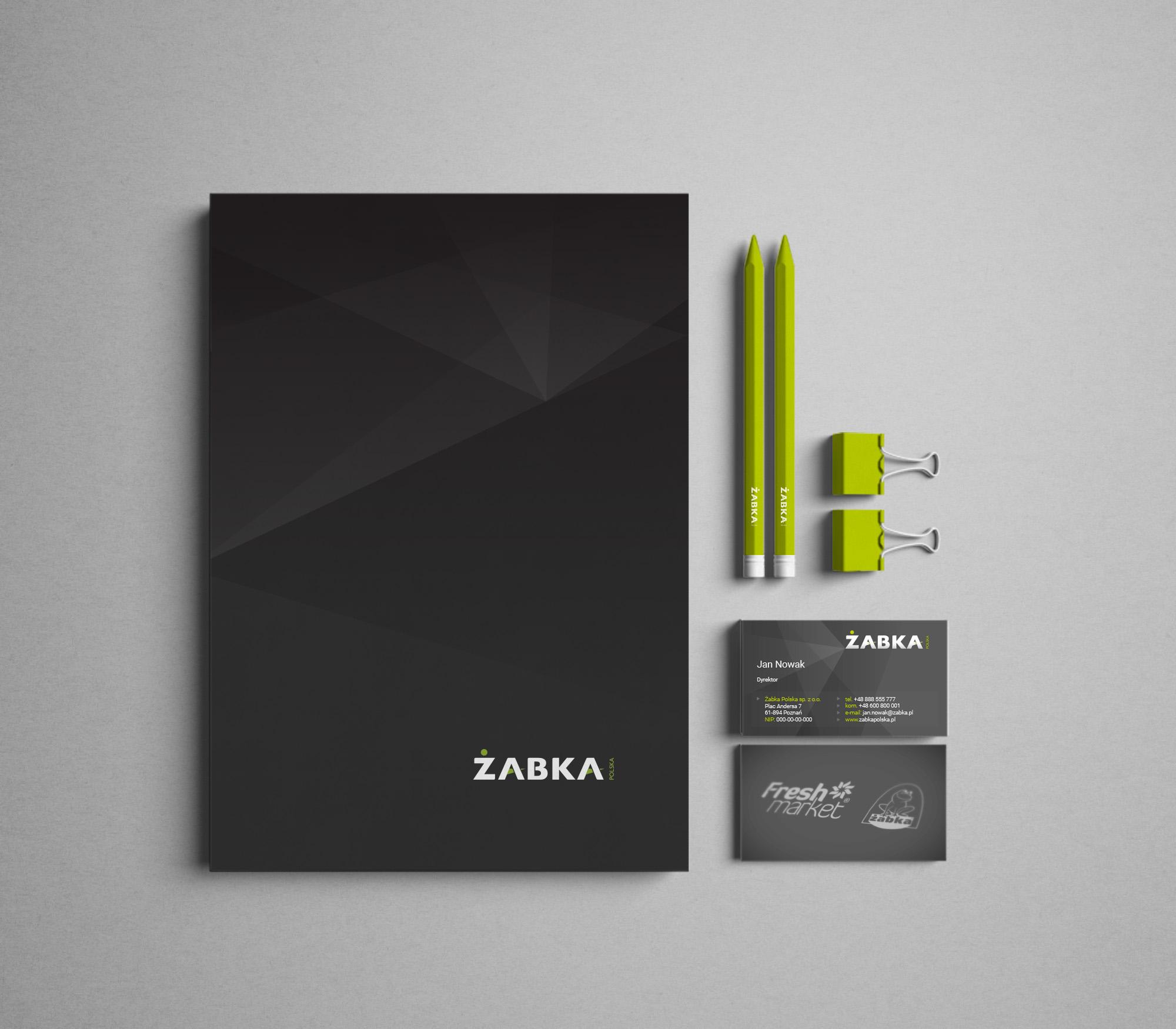 logo design, identyfikacja marki, branding, brand book, znak graficzny, Żabka Polska, logo firmy, ci, art designer - Ireneusz Bloch
