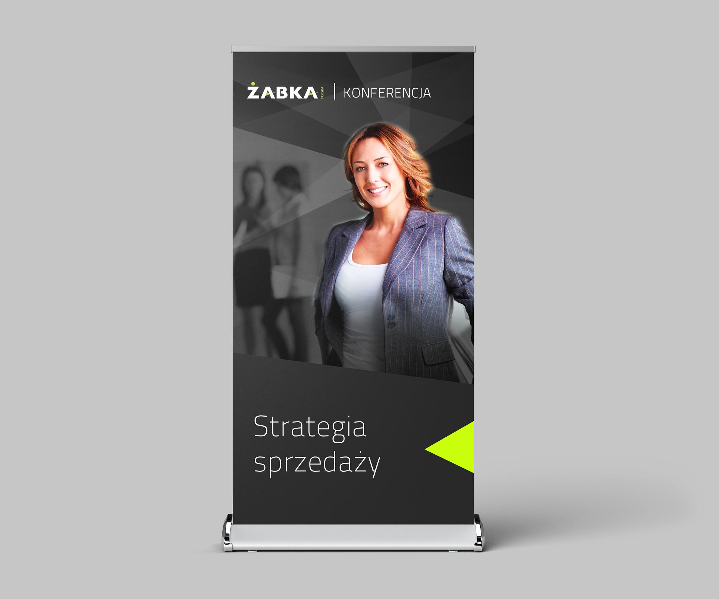 gadgets design, roll up, projektowanie gadżetów, bloch projektowanie graficzne, Żabka Polska