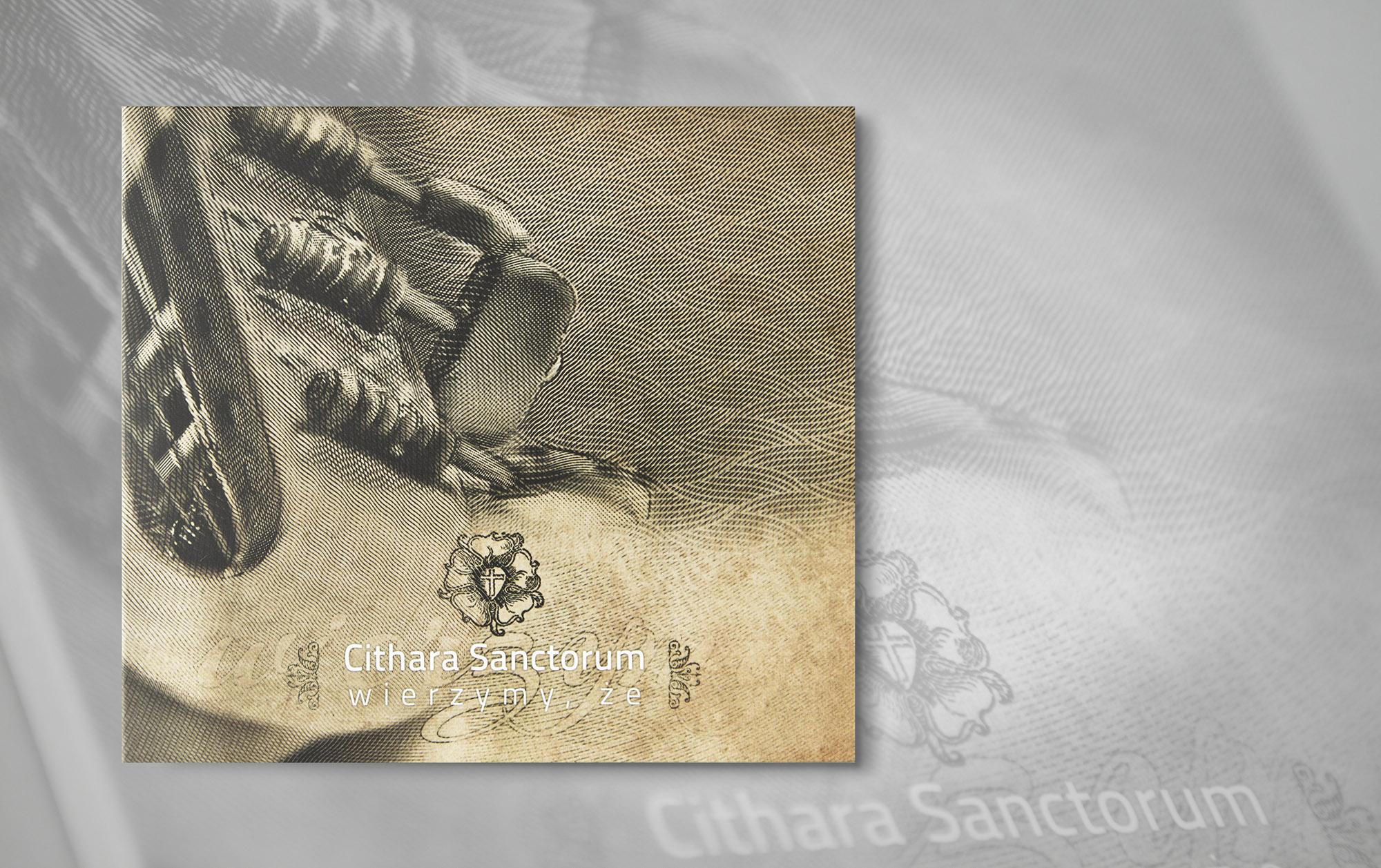 projekty graficzne, design folder, newspaper, ilustracja, concept art, key visual, designer Ireneusz Bloch, cithara sanctorum cd płyta