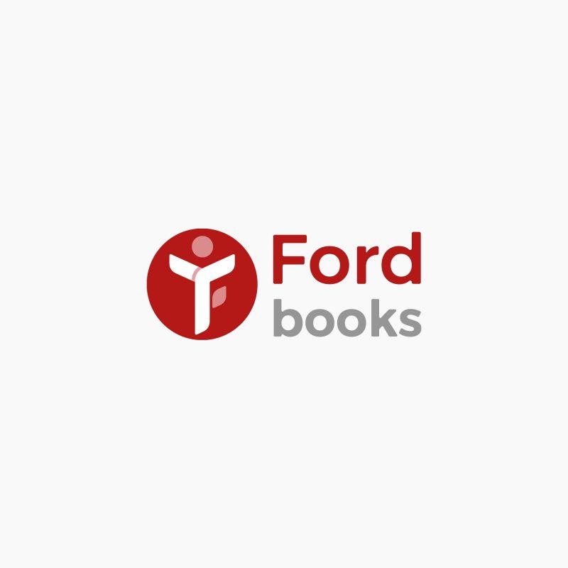 logo design, identyfikacja marki, branding, brand book, znak graficzny, logo firmy, ci, ford books, art designer - Ireneusz Bloch