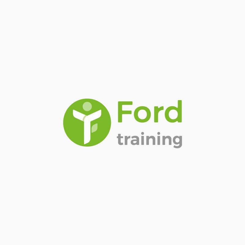 logo design, identyfikacja marki, branding, brand book, znak graficzny, logo firmy, ci, ford training, art designer - Ireneusz Bloch