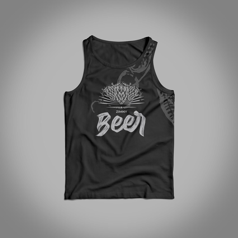 projektowanie gadżetów, design, tshirt, koszulka beer, bloch