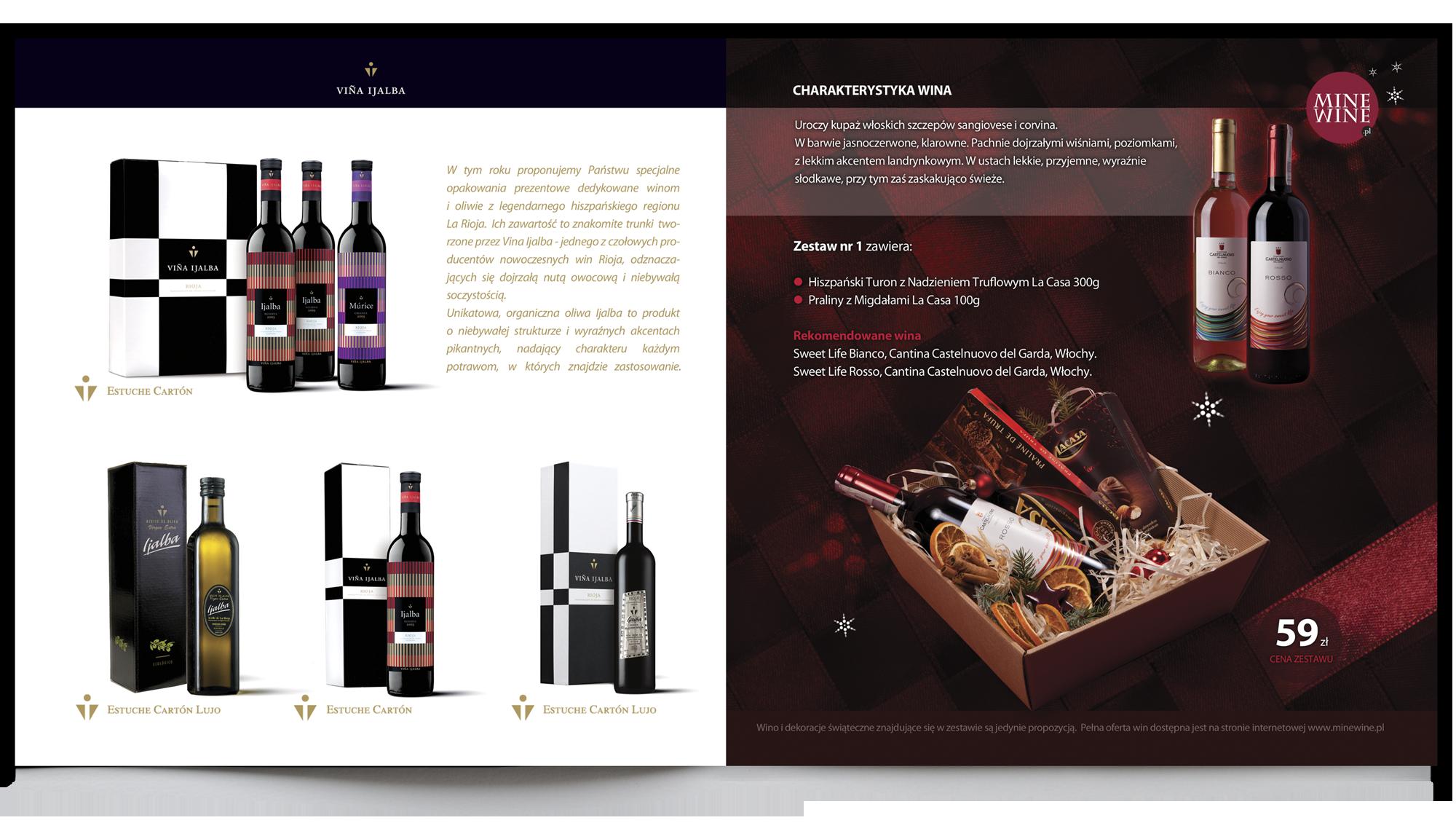 projekty graficzne, design newspaper, ilustracja, concept art, key visual, minewine, designer Ireneusz Bloch