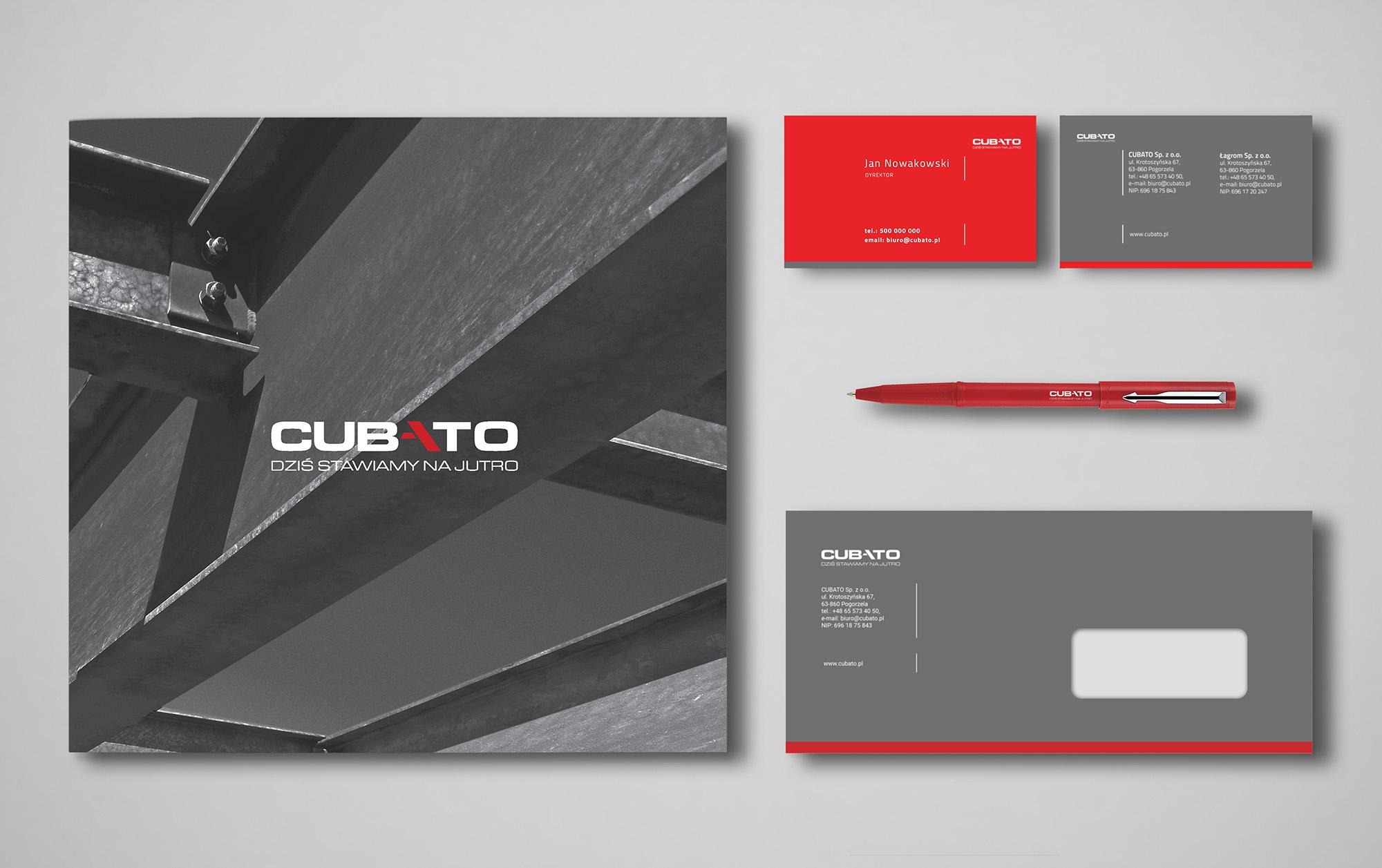 projekty graficzne, design logo, ilustracja, concept art, key visual, CUBATO, designer Ireneusz Bloch