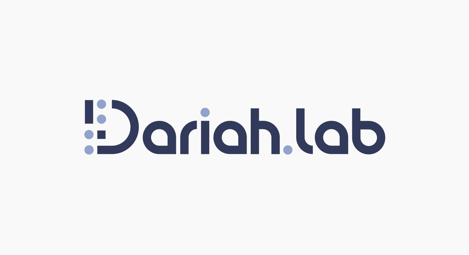 Dariah.lab - Identyfikacja wizualna - logotyp podstawowy