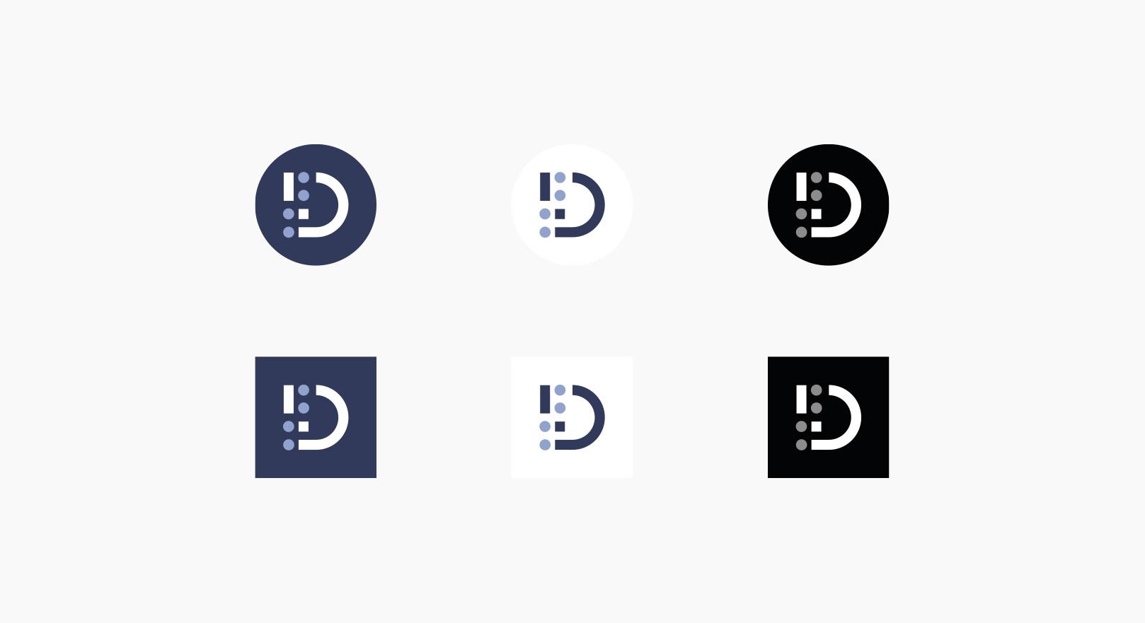 Dariah.lab - Identyfikacja wizualna - logotyp ikona favicon